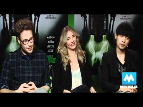 GREEN HORNET interview with JAY CHOU, SETH ROGEN & CAMERON DIAZ
