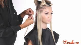 Ленточное наращивание волос HairTalk от Pariks.ru
