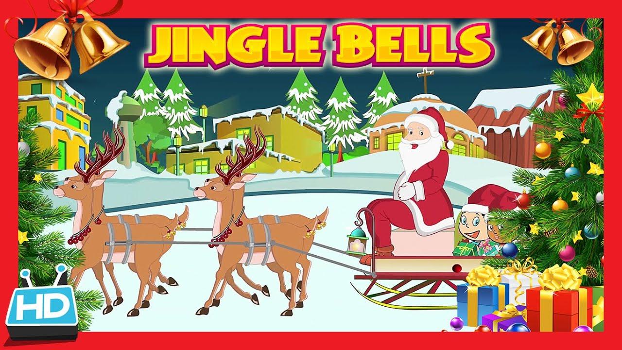 jingle bells jingle bells jingle all the way with lyrics youtube