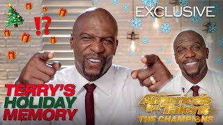 Terry Crews Tells Hilarious Story About An Unexpected Gift - America's Got Talent: The Champions