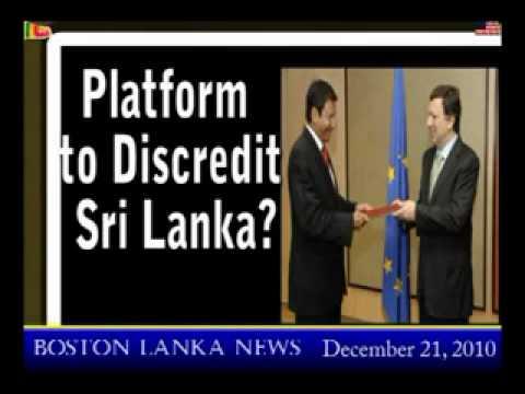 EU violated Freedom of Expression of Sri Lanka at EU Human Rights Debate 06.Dec.2010