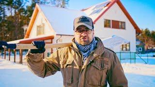 Druga zima w domu SZKIELETOWYM #dom #drewniany #budowa #opinia