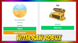 ✨ How to Witнdraw ROBUX (RBLX.Land)