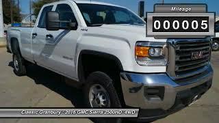 2016 GMC Sierra 2500HD Granbury TX, Weatherford TX, Cleburne TX 132707