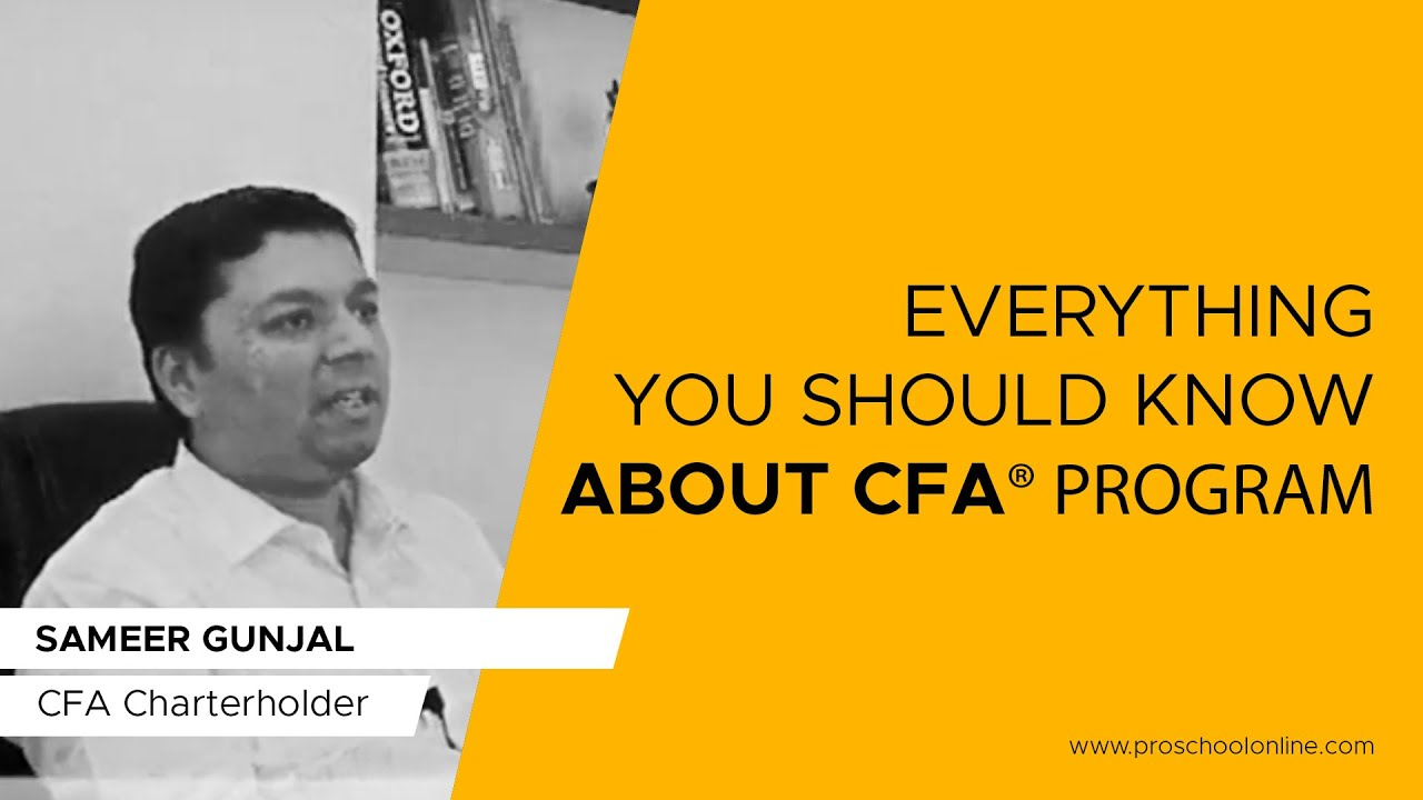 CFA Course by CFA Institute official training provider in Mumbai & Pune