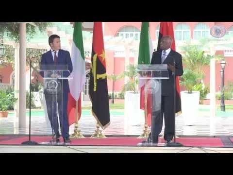 Renzi in Angola