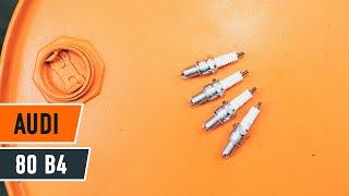 Монтаж на Запалителна свещ на AUDI 80 (8C, B4): безплатно видео