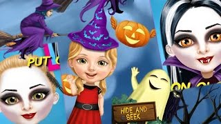 """Sweet Baby Girl Halloween """"Unlock All"""" Android İos  Free Game GAMEPLAY VİDEO Tutotoons Free 2015"""