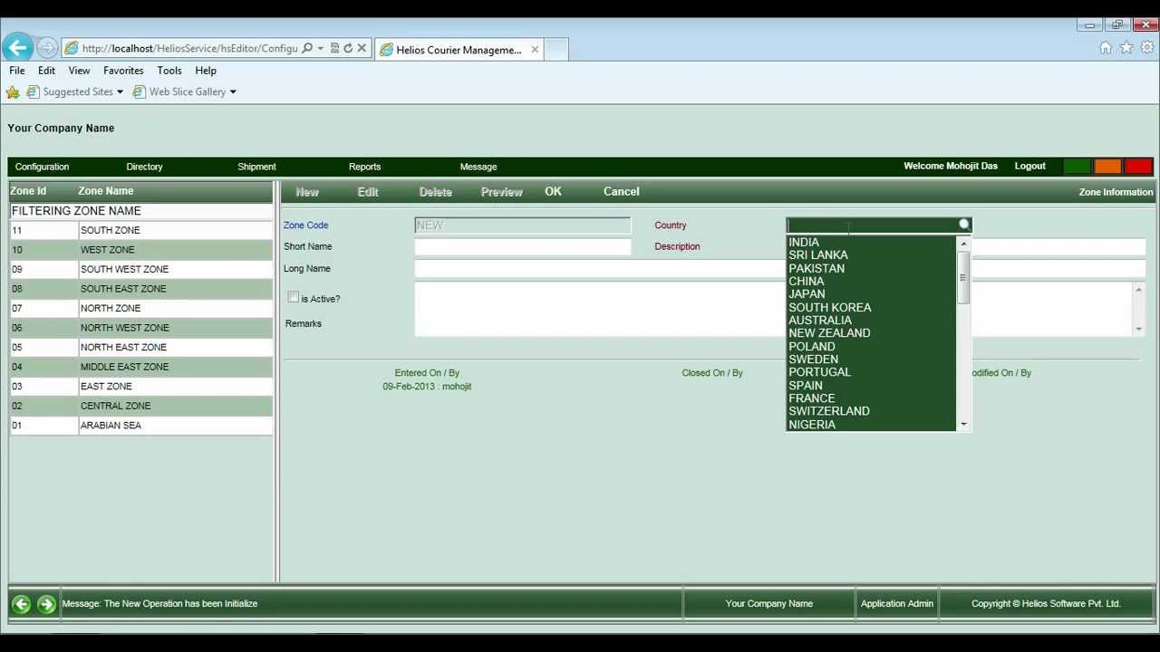 Courier management software is more than just dispatch software is called  Helios Courier System