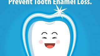 Tooth enamel loss puts your teeth at increased risk for tooth decay.