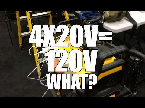 How Dewalt Flexvolt 174 20v 60v Max Batteries Work Doovi