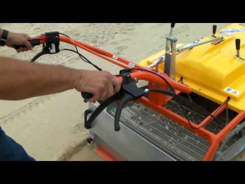 sand sifter machine