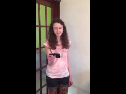 Hurt - Christina Aguilera - cover by 13 year old - Clare Newman