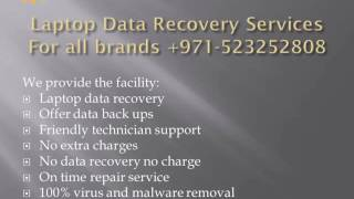 Best Laptop Data Recovery Software Services +971-523252808 Dubai
