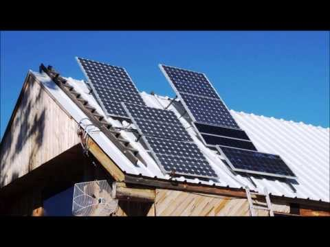 Solar Powered Wood Shop Tour (Shop destroyed July 2014)