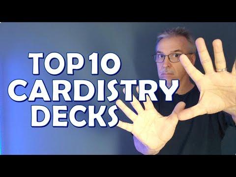Best Cardistry Decks - Top 10 Decks for Flourishing