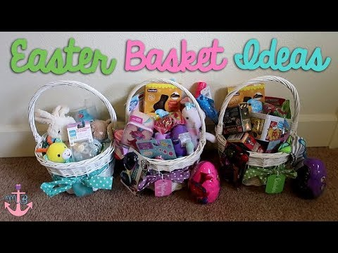 Whats in my kids easter baskets easter basket ideas for babies whats in my kids easter baskets easter basket ideas for babies boys girls negle Gallery