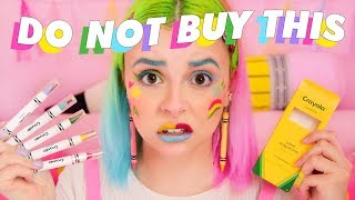 🎨🖍 CRAYOLA BEAUTY HONEST REVIEW 🖍🎨