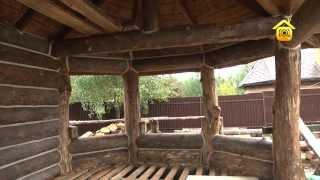 Открытая беседка из... старой бани // FORUMHOUSE(Больше видео на http://www.forumhouse.tv Красивые, нестандартные постройки -- это не обязательно дорогой материал и..., 2013-12-26T04:23:54.000Z)