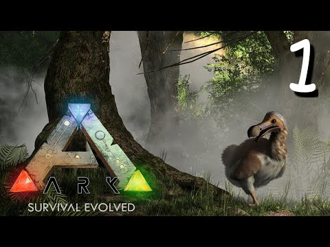 ARK Survival Evolved - Getting started in ARK!!  - Ep1 Gameplay/ Walkthrough
