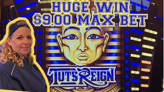 💰🔥TUTS REIGN MAX BET HUGE WIN💰🔥KICKAPOO LUCKY EAGLE CASINO