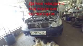 Замена датчика детонации Hyundai Sonata 2.0 137 Beta (Соната Тагаз 2.0 137 лошадей двигатель БЕТА)