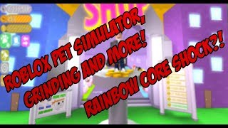 Ich GOT BROKEN COINS!!!| ROBLOX PET SIMULATOR!| Roblox Stream #63