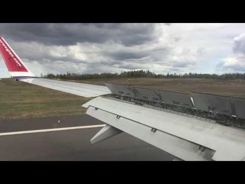 Landing at Gothenburg Landvetter Airport