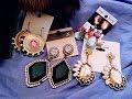 Statement jewelry earrings