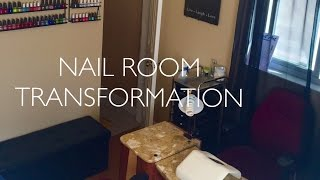 Nail Room TRANSFORMATION | Before & After