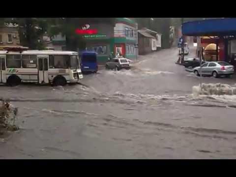 Донецк, Яма после дождя. 29 июн. 2016 г.