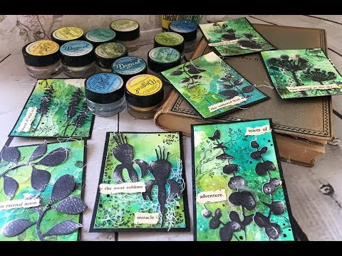How to use Magicals & Shakers by Lindy's Gang  set of ATCs by Asia Marquet