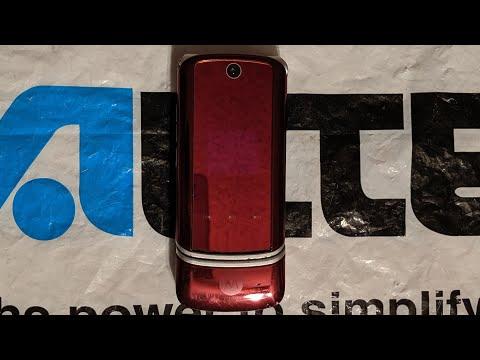 Verizon Wireless Motorola Krzr K1m