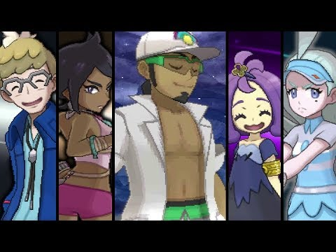 Pokemon Ultra Sun and Ultra Moon: Pokemon League - Elite 4 and Champion Battle