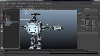 Rigging and Animating a DOTA 2 Courier – Part 1: Setting up a HumanIK skeleton