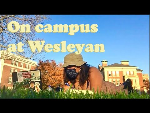On-Campus During COVID-19 || a day @ wesleyan university