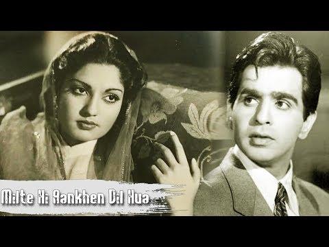 Milte Hi Ankhen Dil Hua Diwana | Old Classic Popular Song | Talat Mahmood | Babul |1950