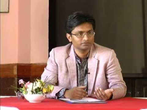Santosh Shah on 'Future Leaders 1' NTV PLUS. 14th Oct 2011