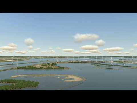 Animatie Windpark Krammer - Consortium AkzoNobel, Google, Philips en DSM