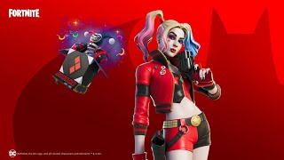 The REBIRTH HARLEY QUINN Skin Is In The Item Shop!