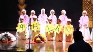 "Ahlan Wasahlan - ""Welcome song performed by primary students of The Rightway School"""