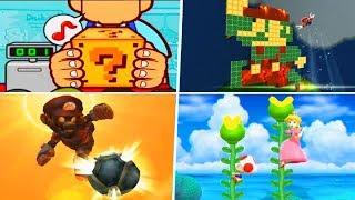 Evolution of Super Mario Wii Games (2007 - 2019)