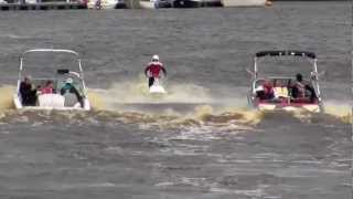 Mastercraft Stunts Jet Ski, Water Ski and Speed Boats on the Foyle - Derry / Londonderry