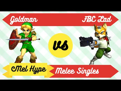 Mel Hype 2.2 - Melee Singles - Goldman (Young Link) vs FBC Lad (Fox) - WR1