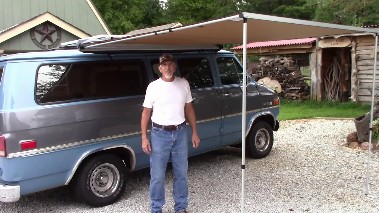 Awesome Arb Awning For The Camping Van Diy Youtube