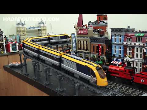Lego Train Track Elevation and Support Kit