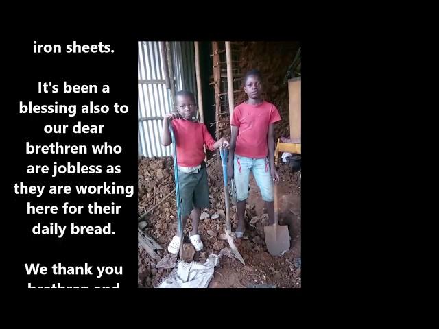 October 6th 2018 Kibera Slum 3 Hut Update - GMFC Working Faith Fellowship