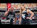 FULL SEGMENT - The Rock and Ronda Rousey confront