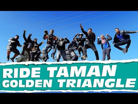 RIDE TAMAN GOLDEN TRIANGLE