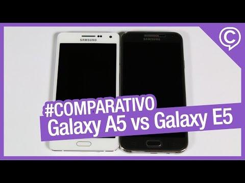 Galaxy A5 vs Galaxy E5 - Comparativo entre os intermediários das linhas A e E da Samsung